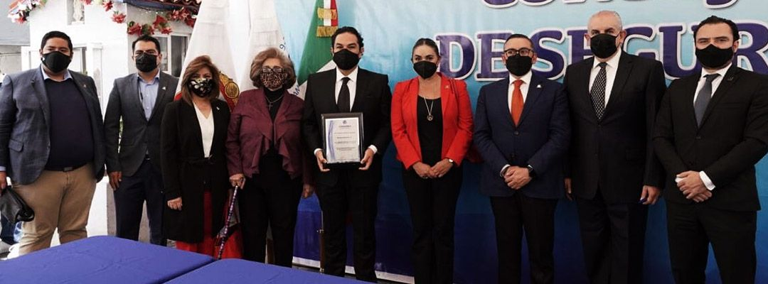 XIV Sesión Ordinaria del Consejo Municipal de Seguridad Pública de Huixquilucan.