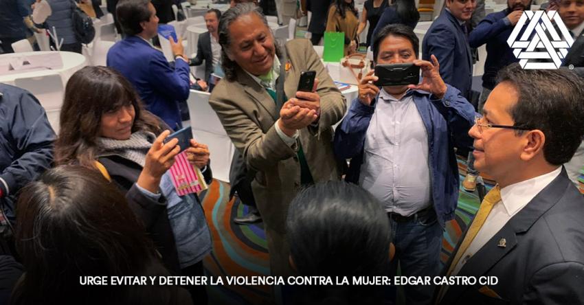 Urge evitar y detener la violencia contra la mujer: Edgar Castro Cid